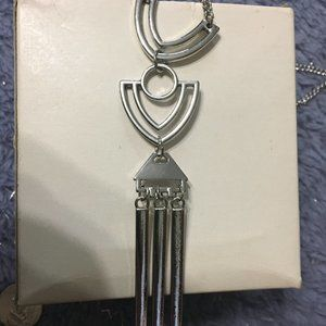 *3 for $10* Paparazzi Long Silver Necklace